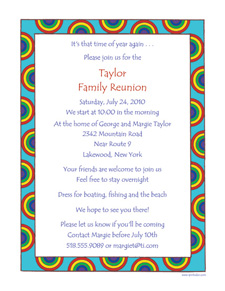 Family Reunion Invitation Letter Sample