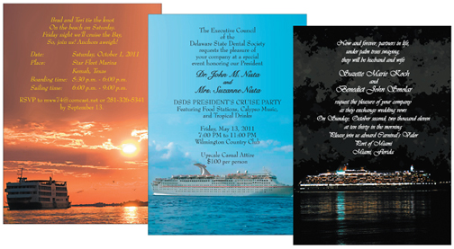 Invitations for a party on a cruise ship ipv studio cruise party invitations stopboris Gallery