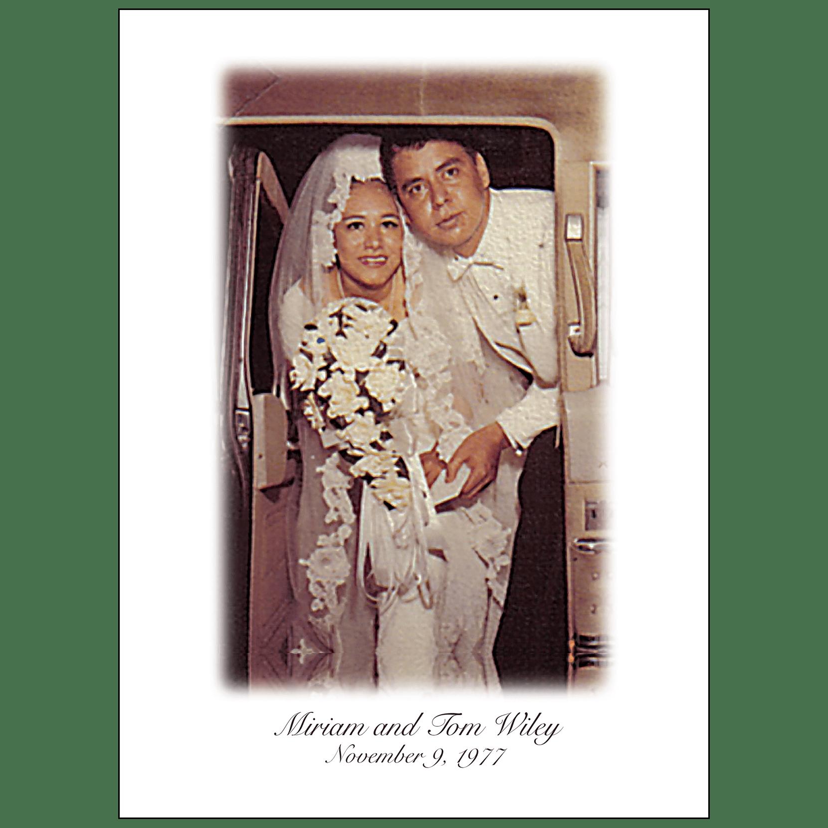 40th Wedding Anniversary Party Invitation Style 1b Ipv Studio