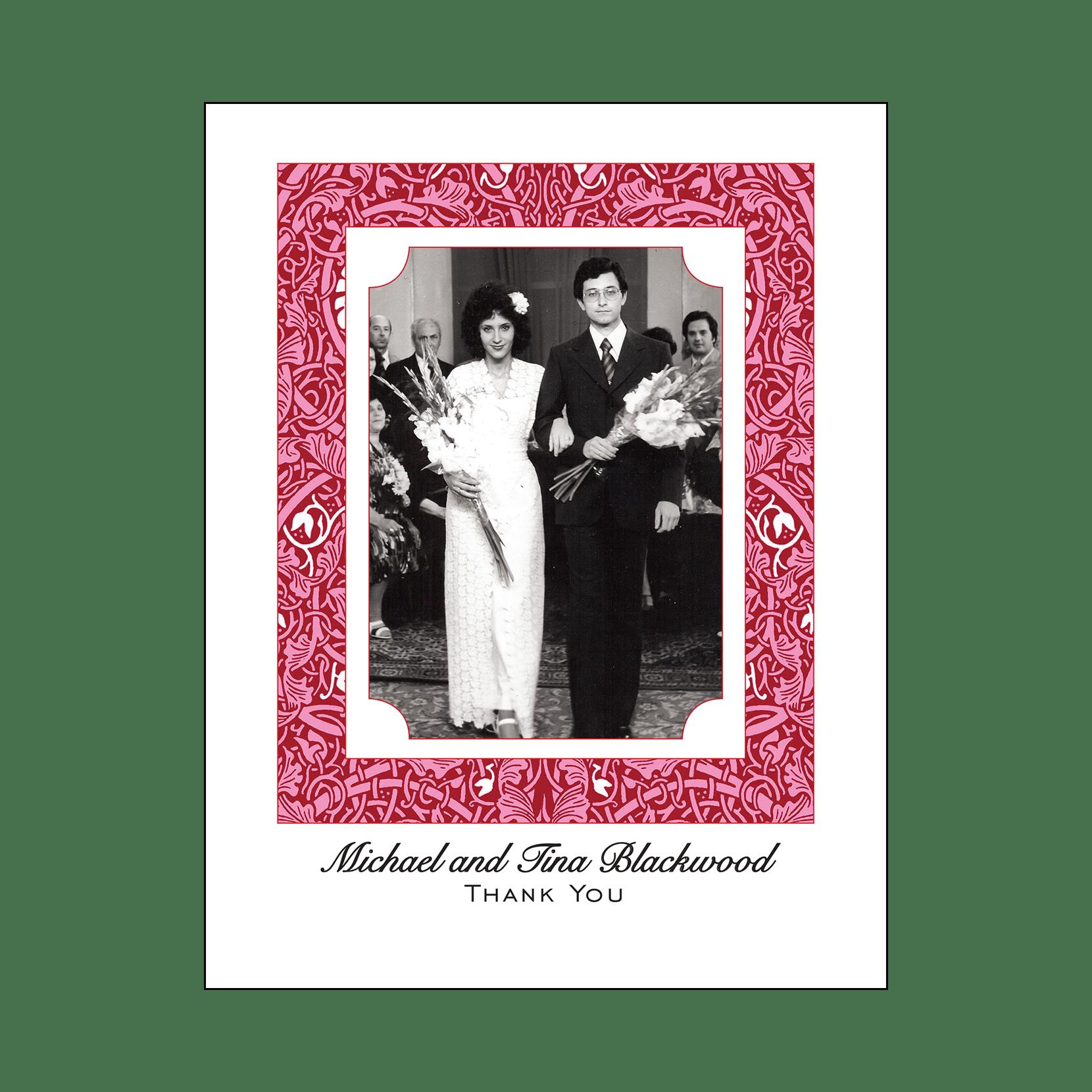 40th Wedding Anniversary Party Invitation, Style 1J – IPV Studio