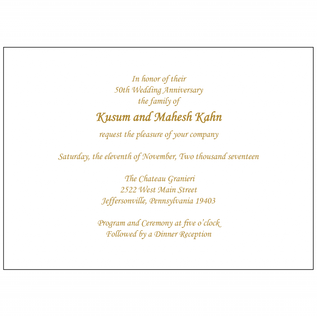 Text Inside Invitation