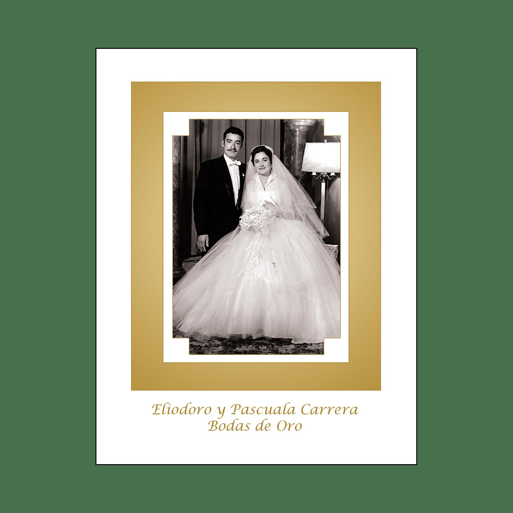 Spanish Wedding Anniversary Party Invitation, Style 1R – IPV Studio