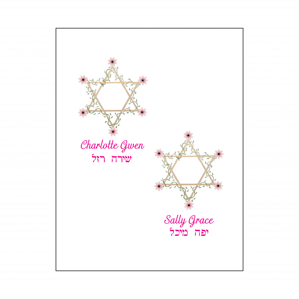 Thank You Card for Twins