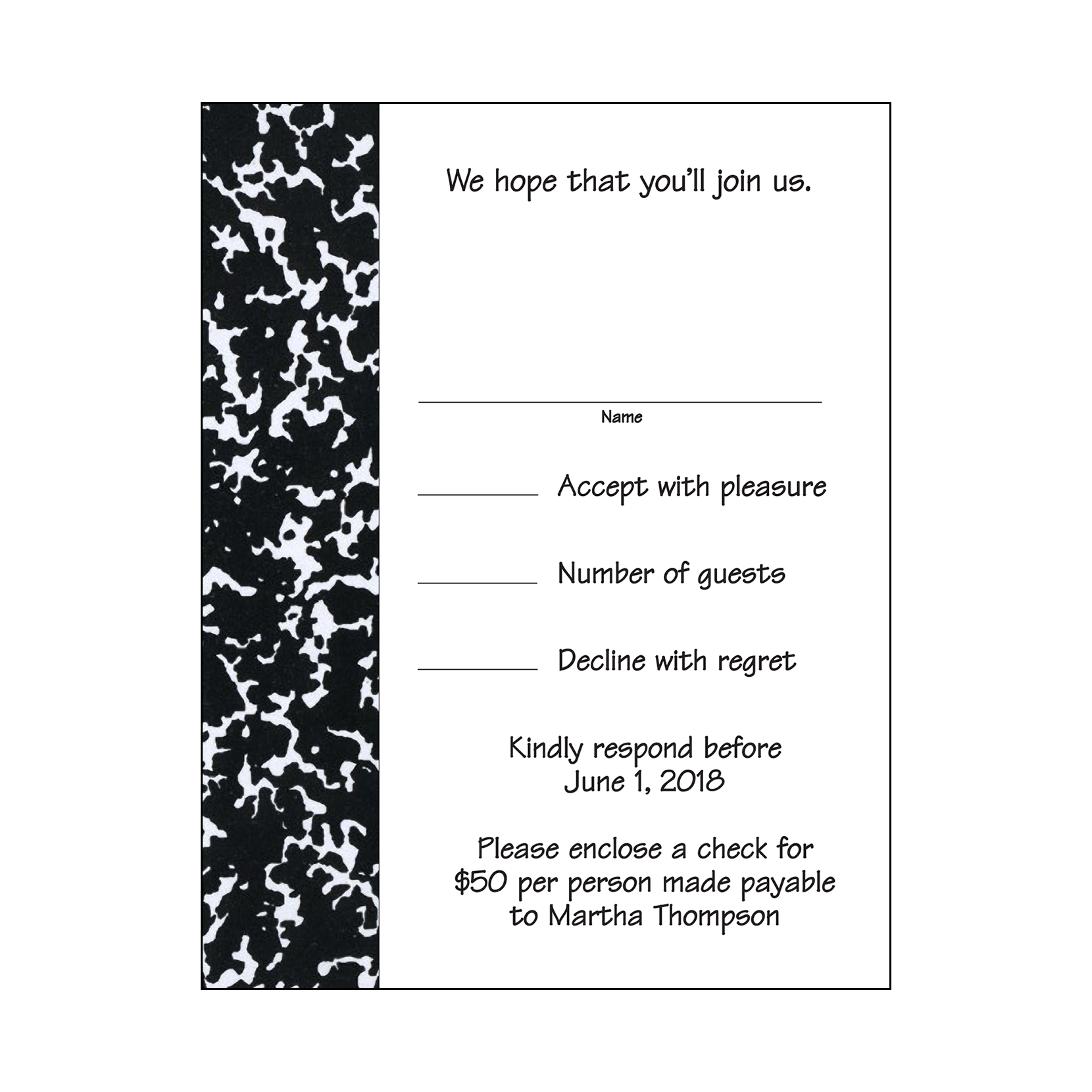 retirement party for teachers invitation  style rpi