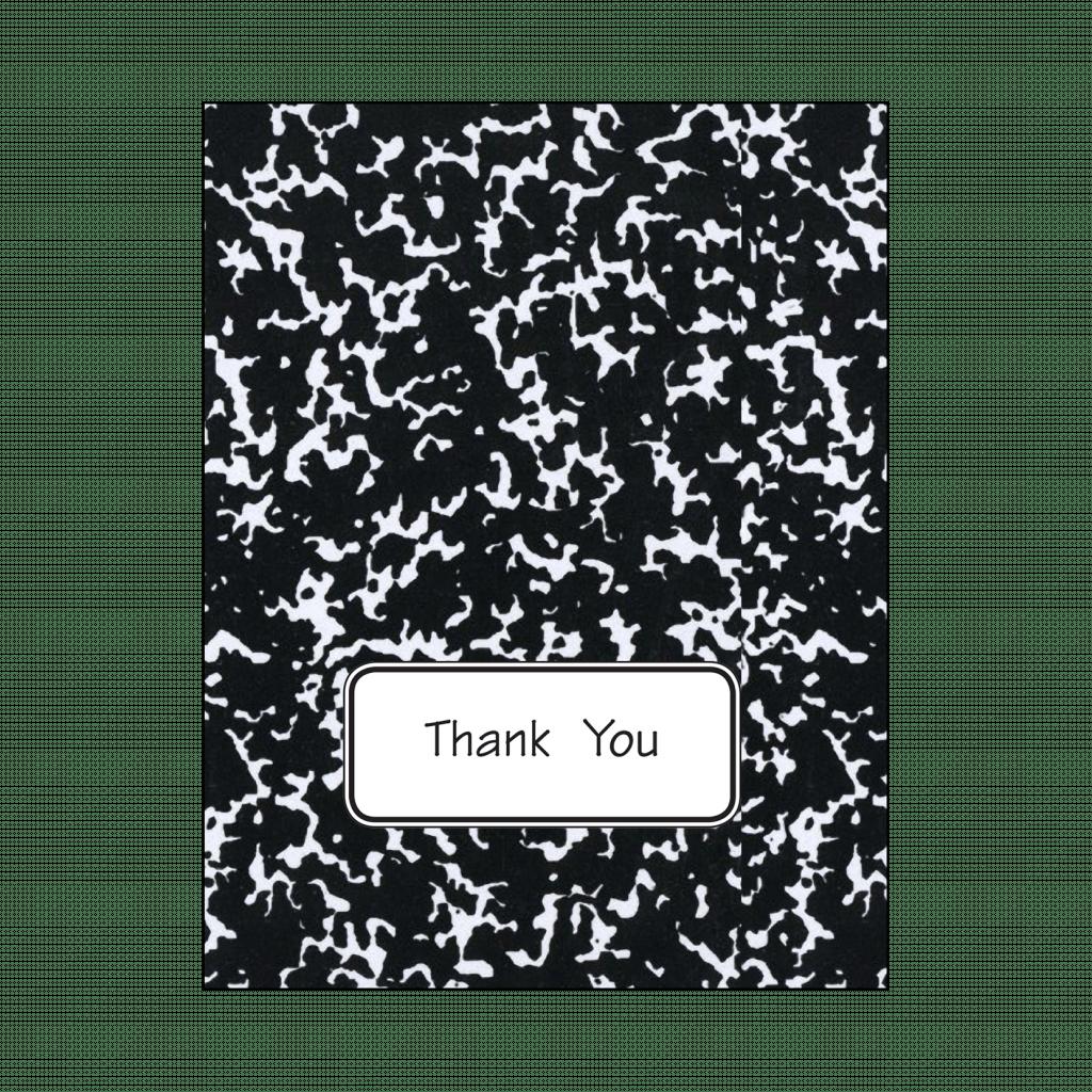 Thank Your Card for Teachers