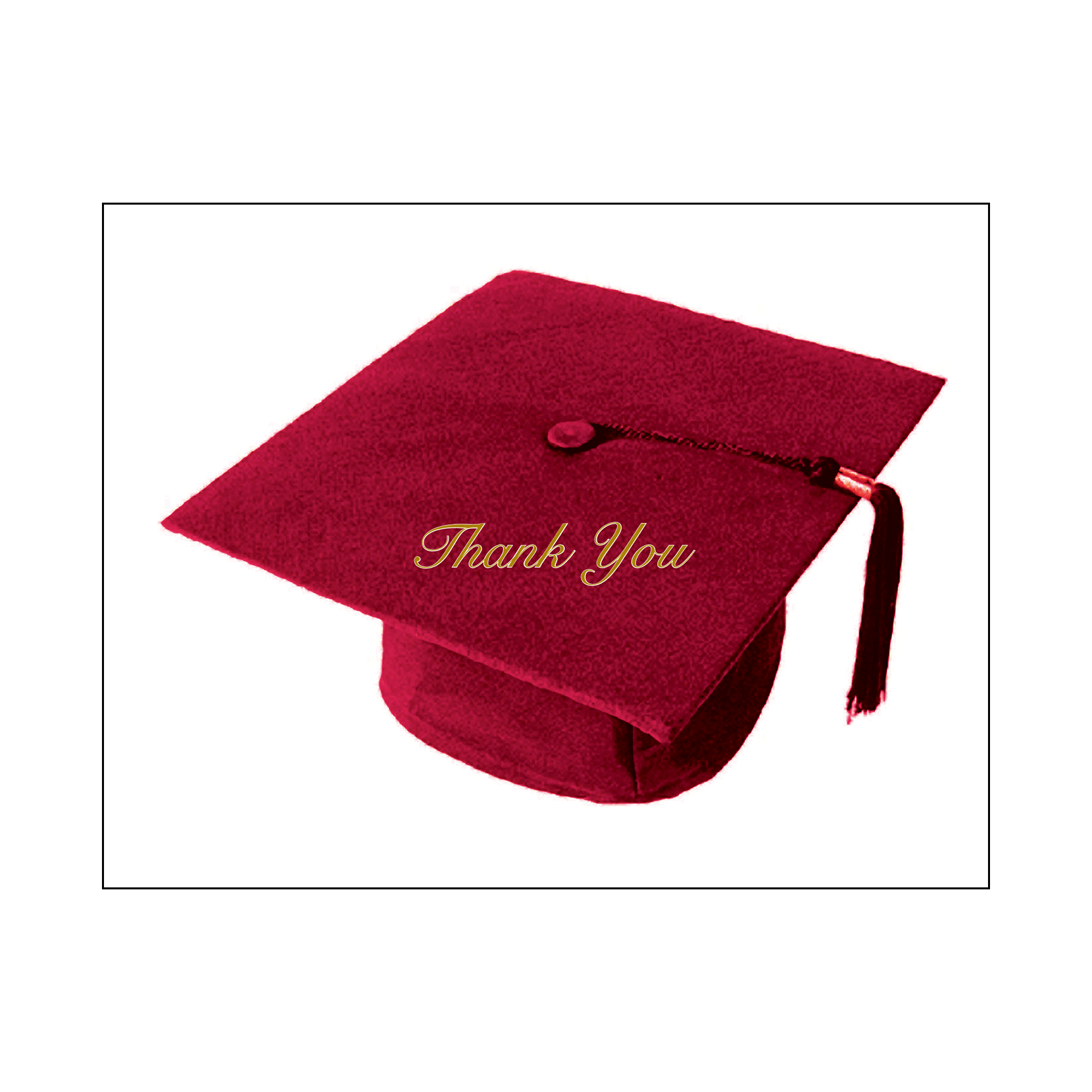 Graduation Party Invitation Grad-03 Maroon – IPV Studio
