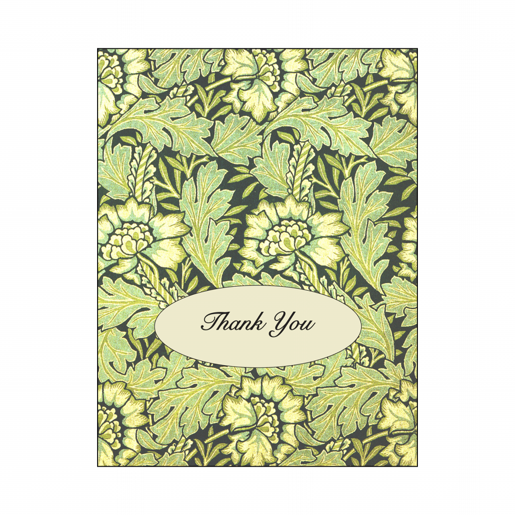 Graduation Party Thank You Card