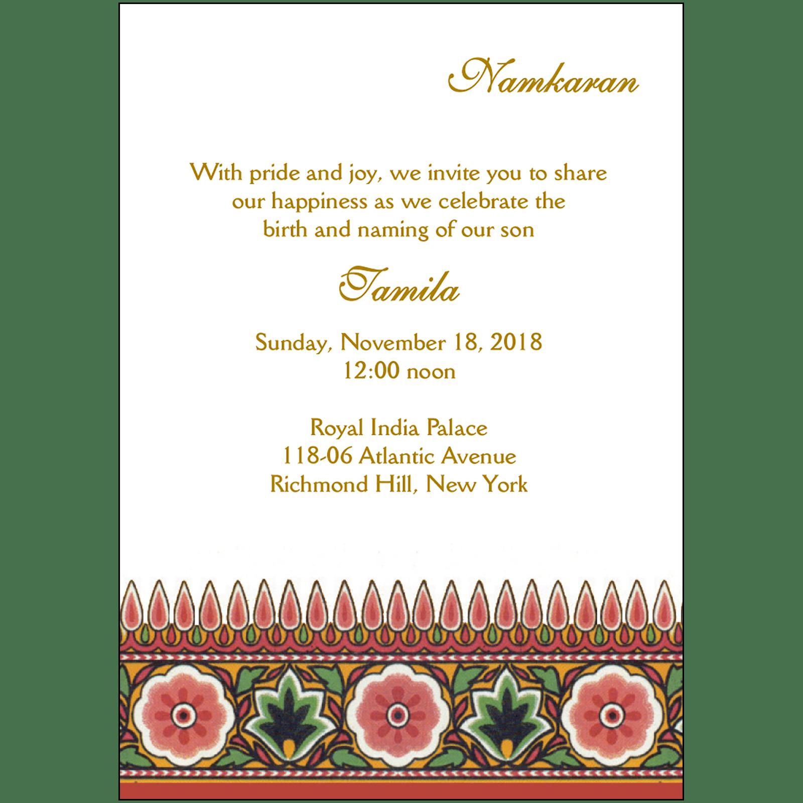Namkaran Invitation Nbn 02